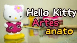 Artesanato Passo a Passo com Pintura em Cerâmica da Hello Kitty