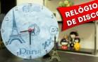 DIY: Faca Você Mesmo um Relógio de Disco de Vinil Reciclado – Artesanato Passo a Passo