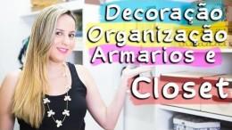 Tour pelo Closet 2 & Dicas de Decoração
